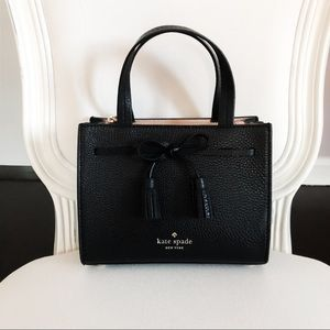 kate spade Hayes Satchel Black Mini Bag